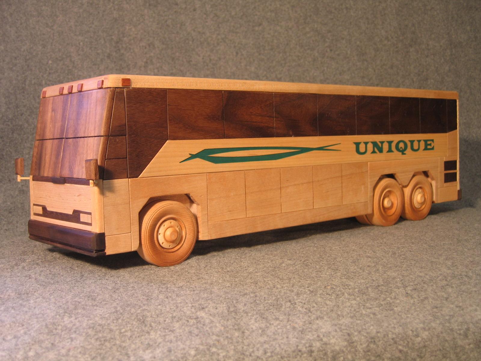 Деревянный грузовик своими руками